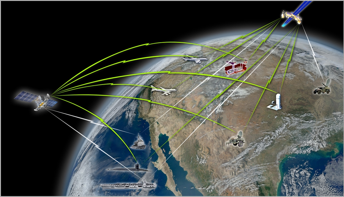 Raytheon Selected By DigitalGlobe As Satellite Imaging Payload - Raytheon over the us map