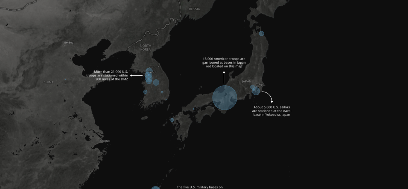 A tale of two Korea\'s: 10 maps show the vast sea of ...