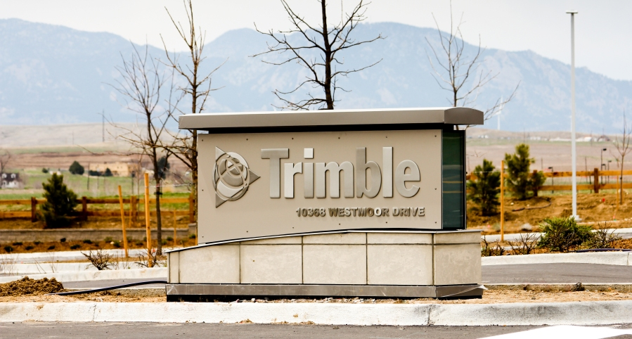 Trimble begins construction on a second building in Colorado
