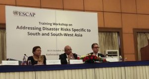 UNESCAP Training Workshop on Disaster Risks in Kathmandu, Nepal