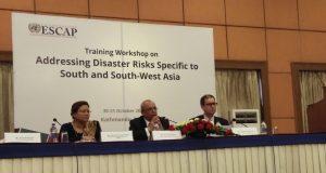 UNESCAP Training Workshop on Disaster Risks in Kathmandu, Nepal