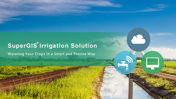 AERC collaborated with Supergeo to develop an irrigation solution based on SuperGIS software