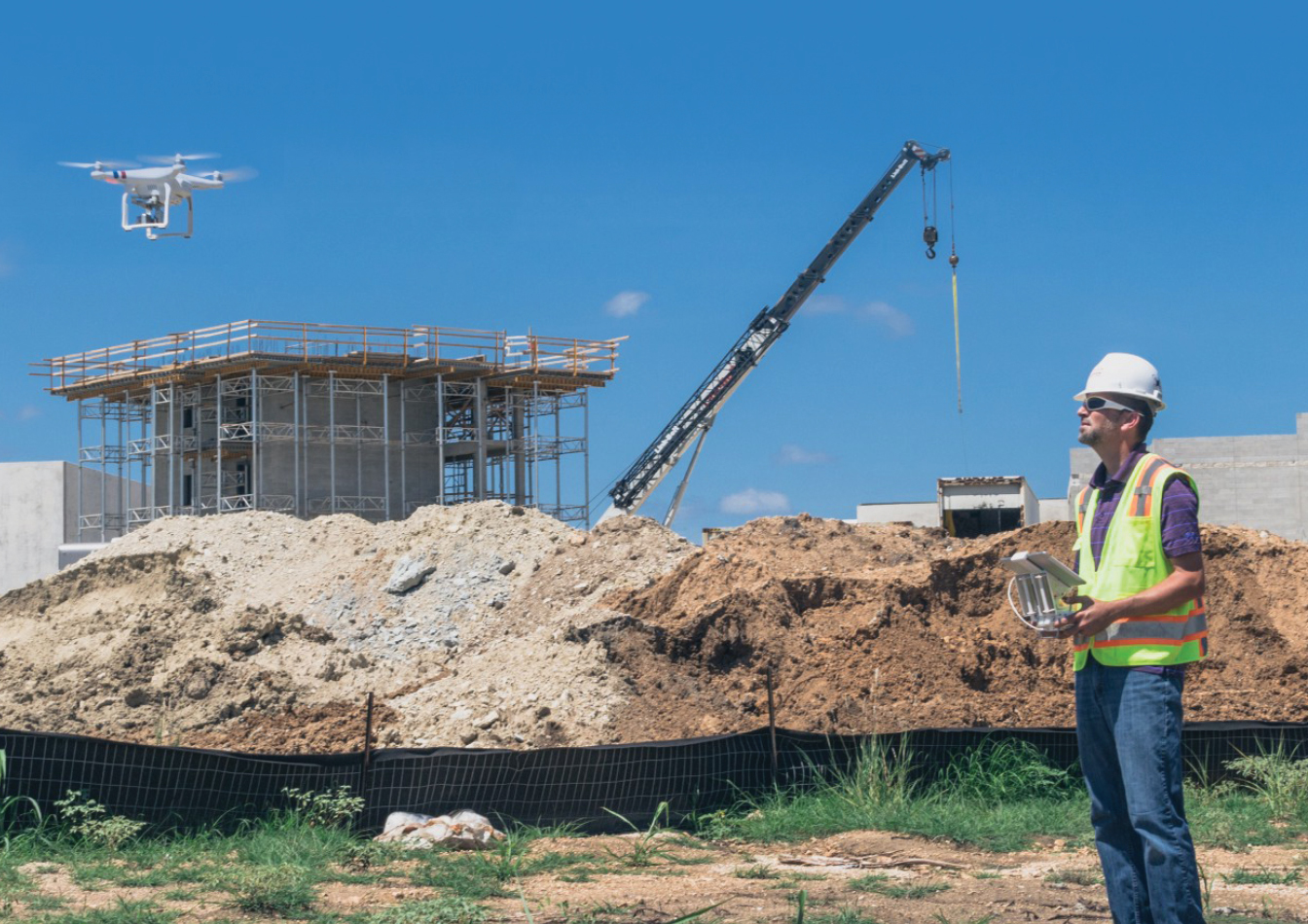 Drones make construction easy and cost effective for New home construction inspection