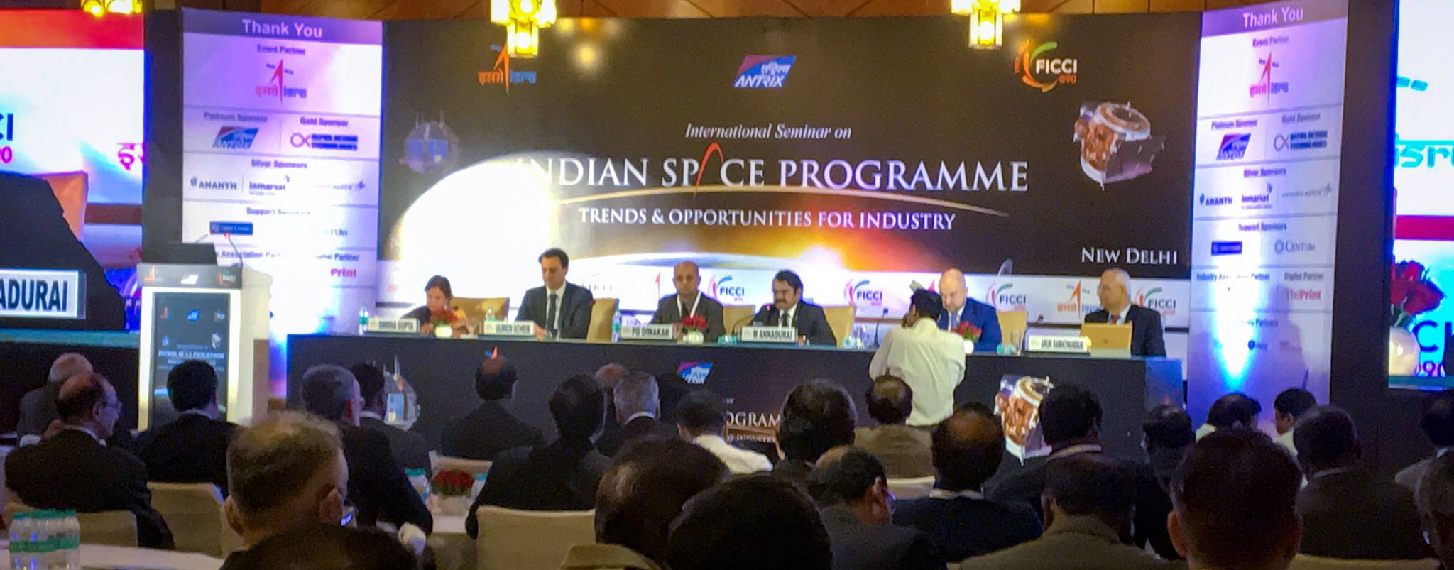 The international seminar on Indian Space Program inaugurated today at The Hotel Ashok, New Delhi