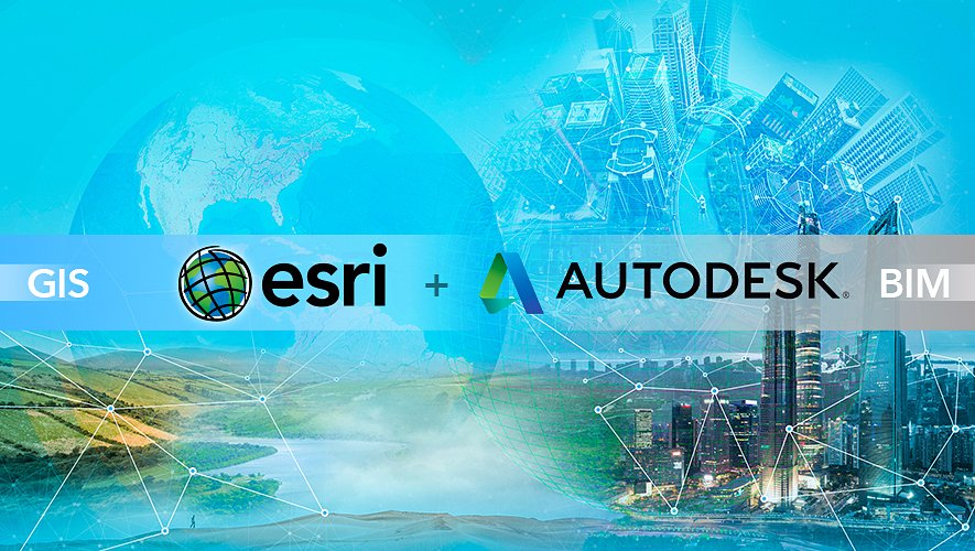 Esri And Autodesk Collaborating To Advance Infrastructure Planning And Design Geospatial World