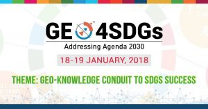 GEO4SDGS 2018