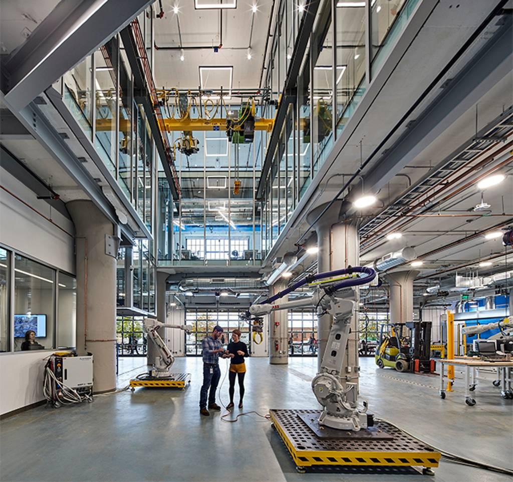 The Autodesk BUILD Space: 1, 75, 500