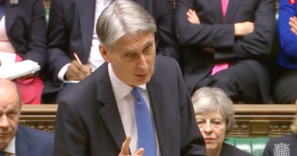 UK's Chancellor of the Exchequer Philip Hammond announced UK Geospatial Commission