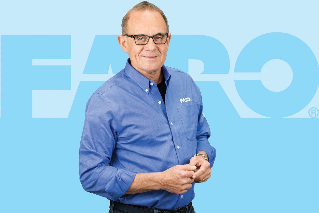 Simon Raab PhD, Co-Founder, CEO and President, FARO Technologies