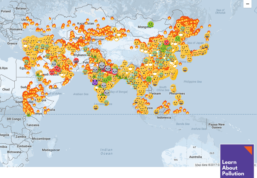 real-time air quality