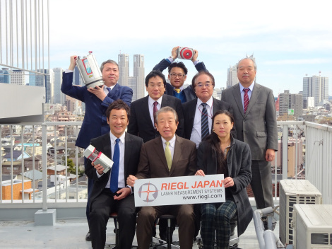 RIEGL Japan celebrates 20th anniversary