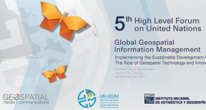 Mexico city declaration UNGGIM Fifth High Level Forum