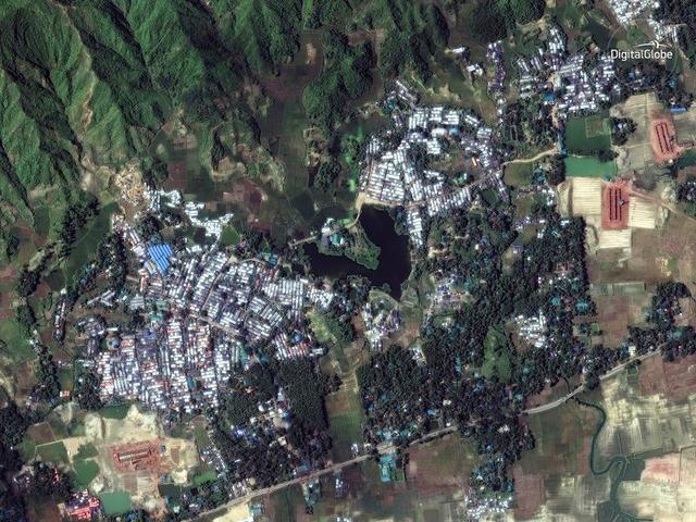 DigitalGlobe satellite imagery