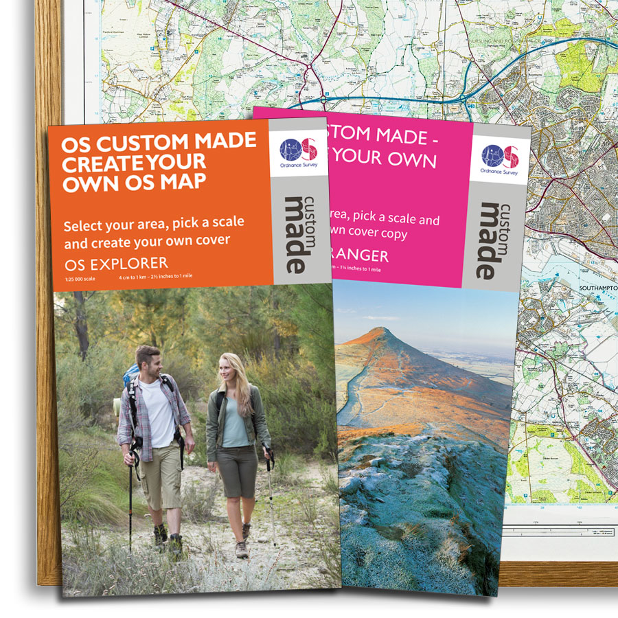 Personalised Os Maps Ordnance Survey has a unique Christmas gift idea
