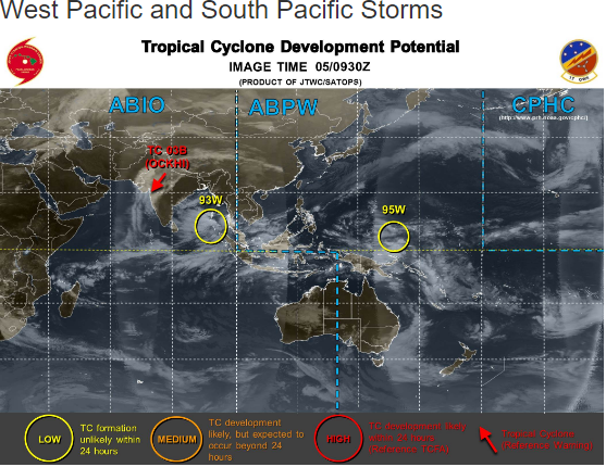 interactive map of cyclones and hurricanes