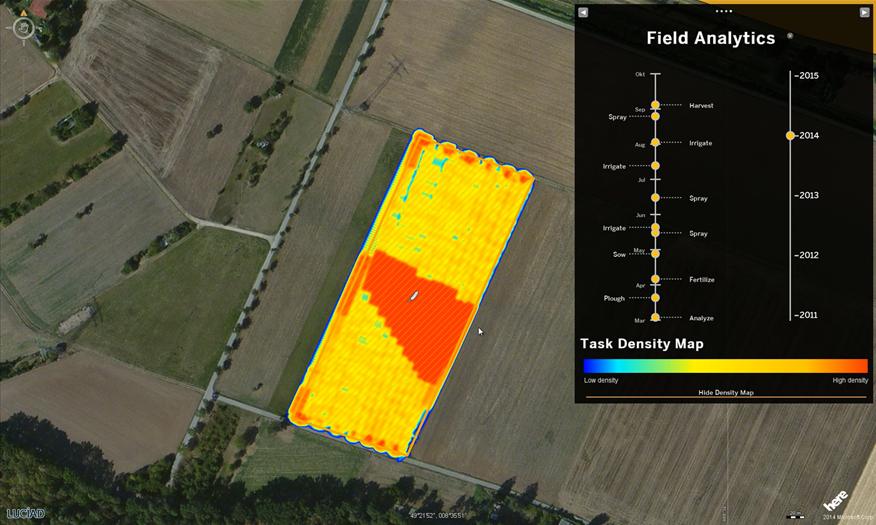 Luciad smart farming technology