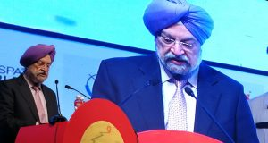 Geospatial is key to urban transformation, Hardeep Singh Puri says at Geospatial World Forum