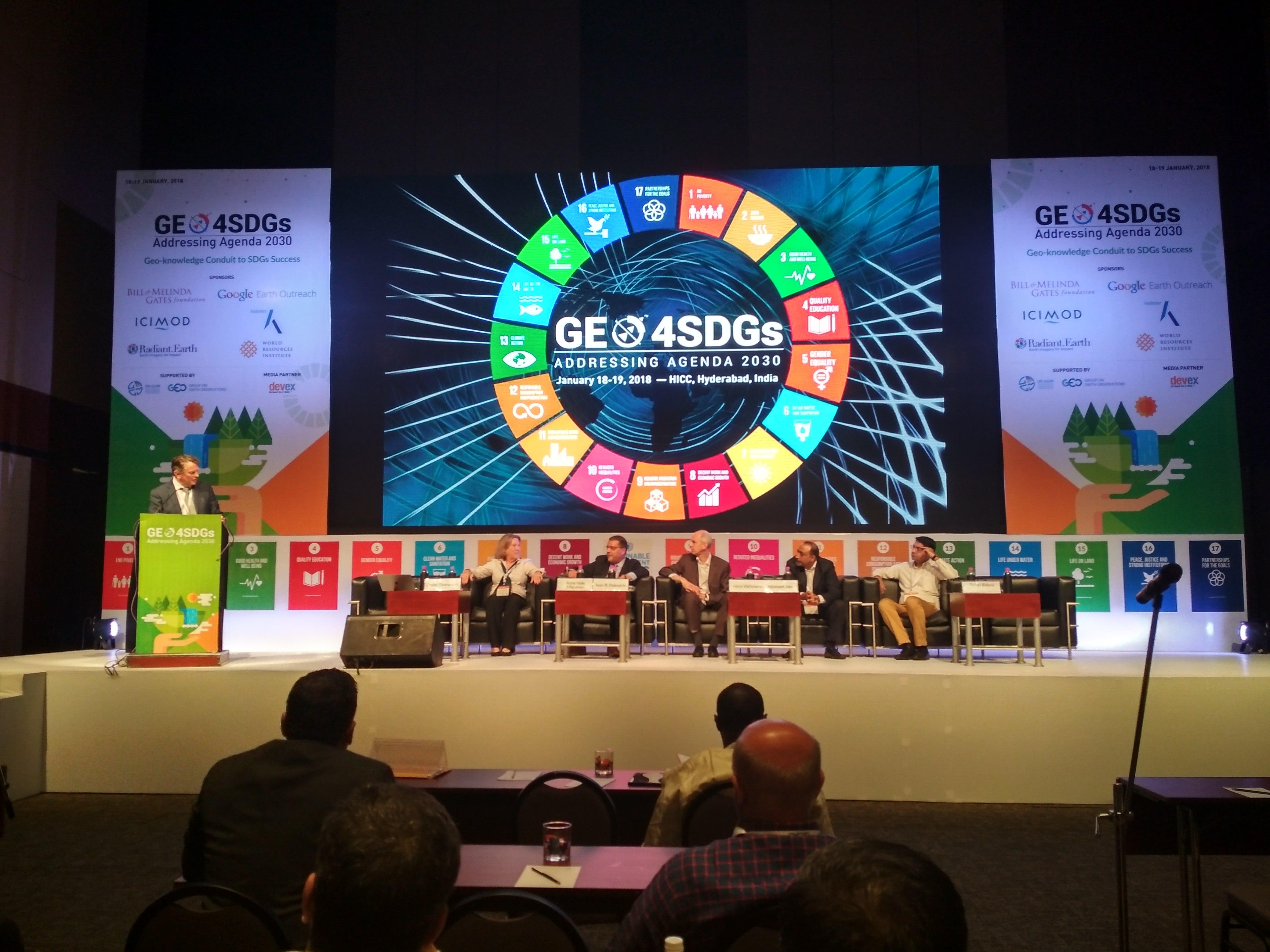geospatial technologies and Big Data