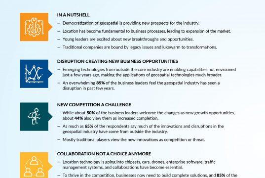geospatial industry key trends