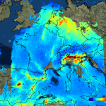 Sentinel 5p air pollution