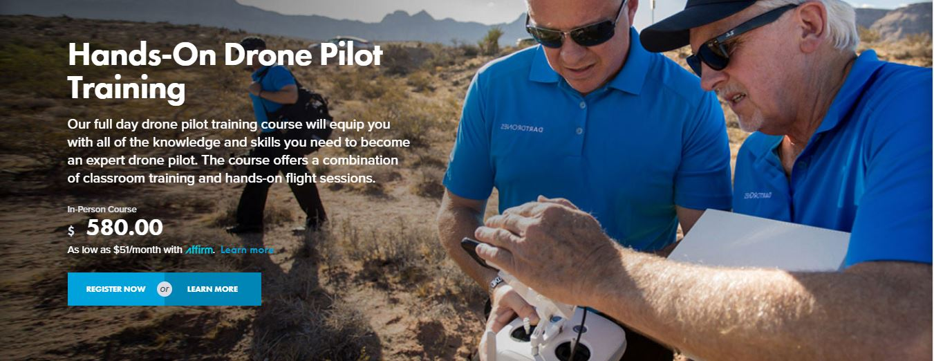 DARTdrones has announced the launch of its Public Safety Grant Program