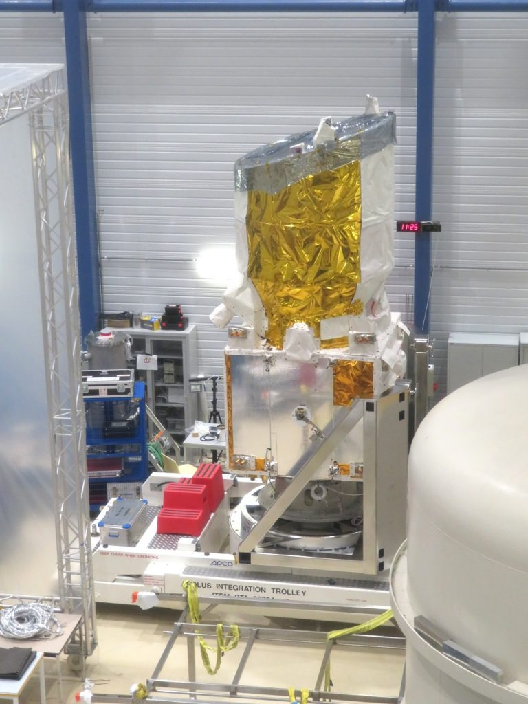 ESA's wind-sensing spacecraft Aeolus will be the first satellite capable of performing global wind-component-profile observation