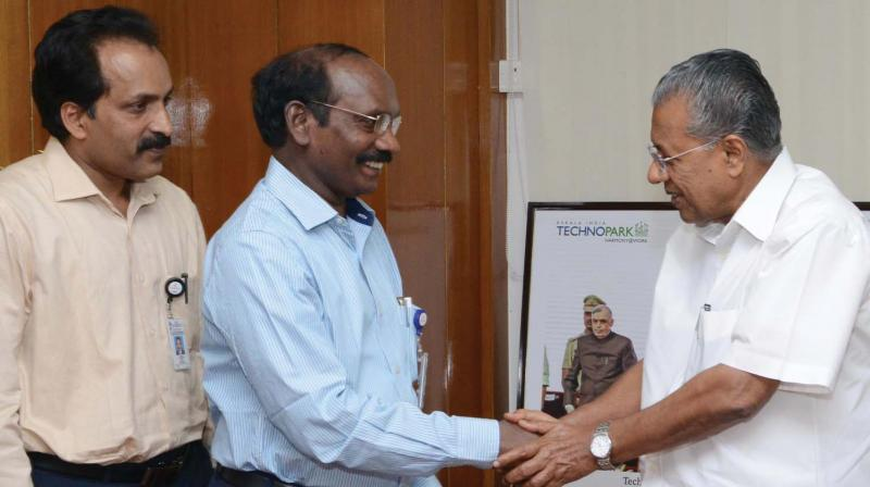ISRO will work with the Indian state govt. of Kerala to set up a knowledge centre in Thiruvananthapuram