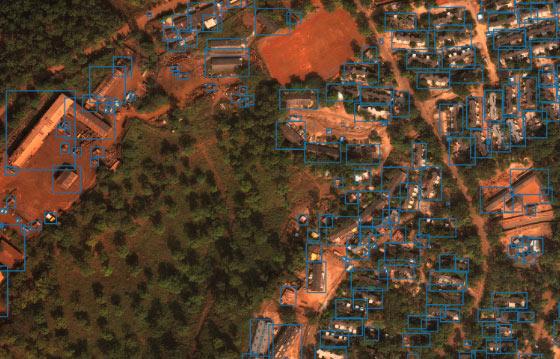 analyze satellite dataset via machine learning