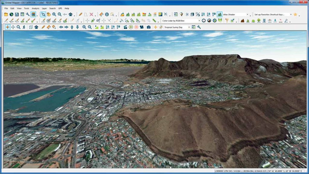 Blue Marble Geographics has announced the immediate availability of Global Mapper version 19.1