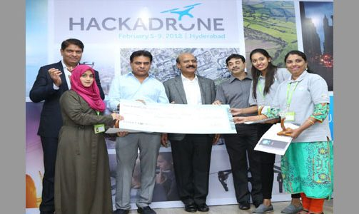 Cyient and DJI announce the winners of its first drone hackathon, Hackadrone 2018