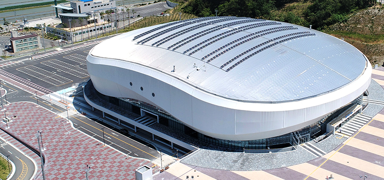 Trimble has announced that it used its BIM technology Tekla Sturctures to design one of the main stadiums for the 2018 PyeongChang Winter Olympic Games.