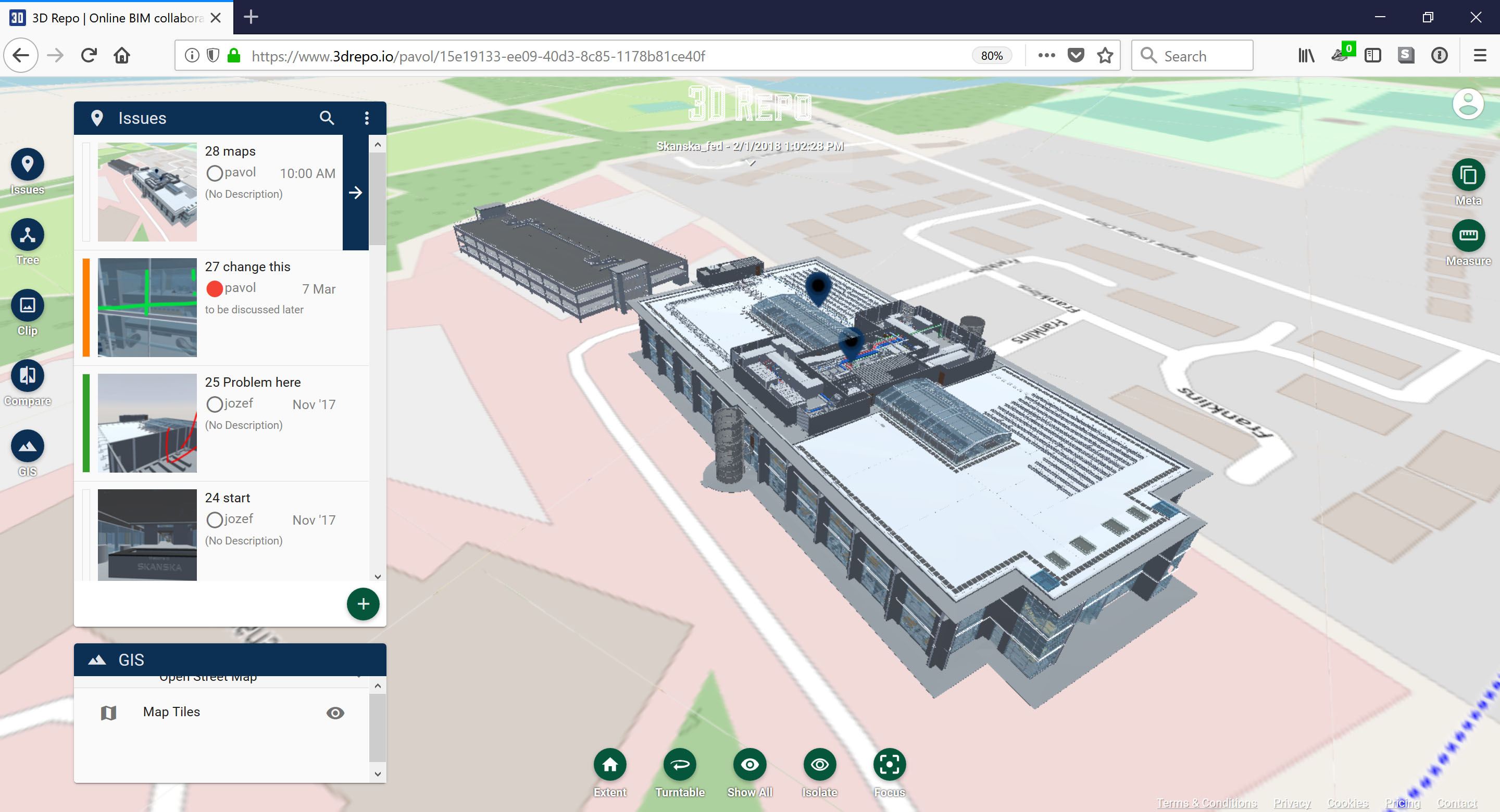 New 3D Repo version adds the BCF support and GIS integration