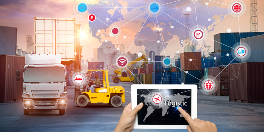 How IoT enables logistics and supply chain management?