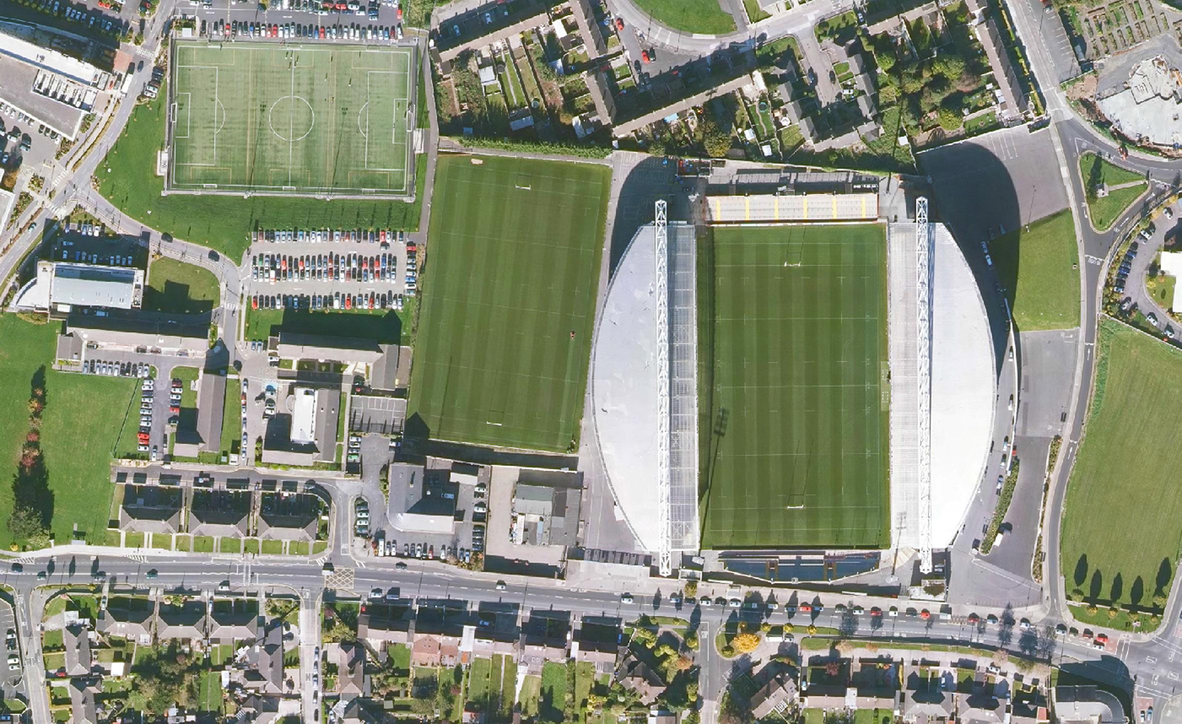BlueSky LImerick Rugby ground