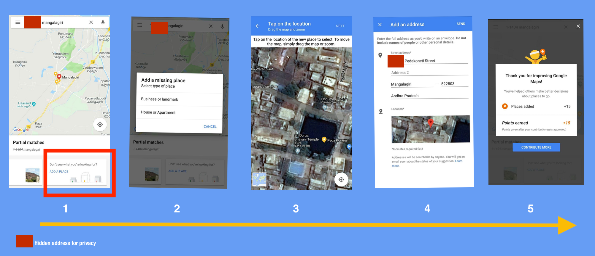 Address search experience on Google Maps gets better for India on instagram address, gmail address, google aerial view of property, google home address, google web address,