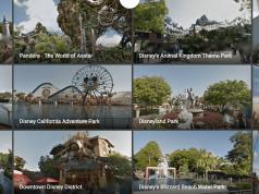 Google Maps - free virtual tour of Disney Parks