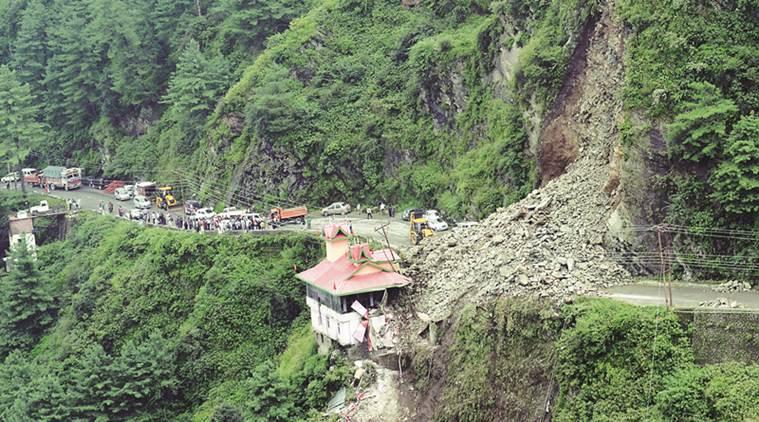 GIS remote sensing landslides
