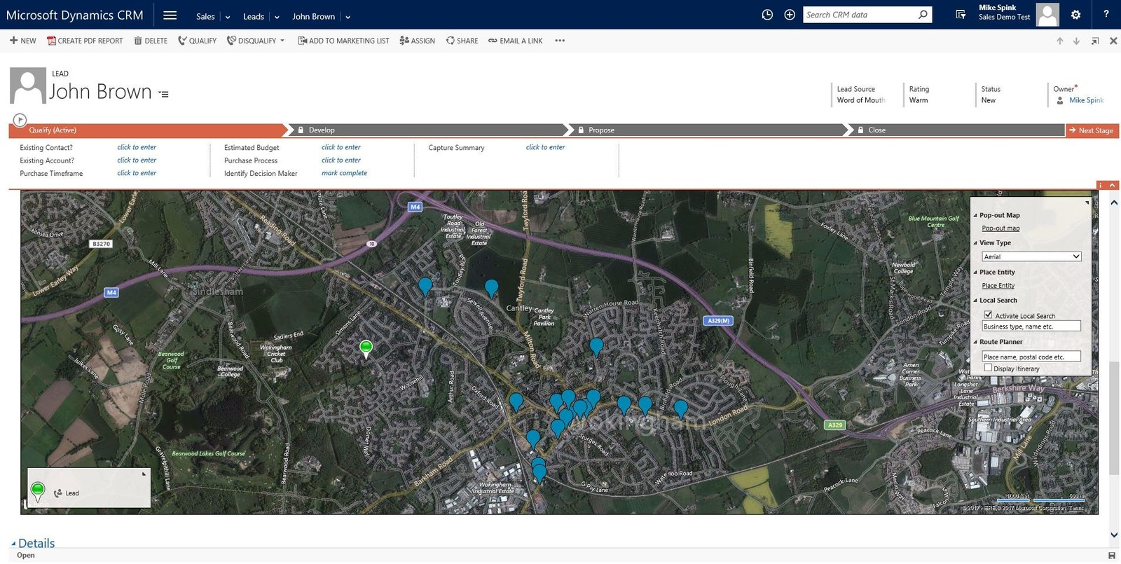 power of maps in Microsoft Dynamics 365 with eMap