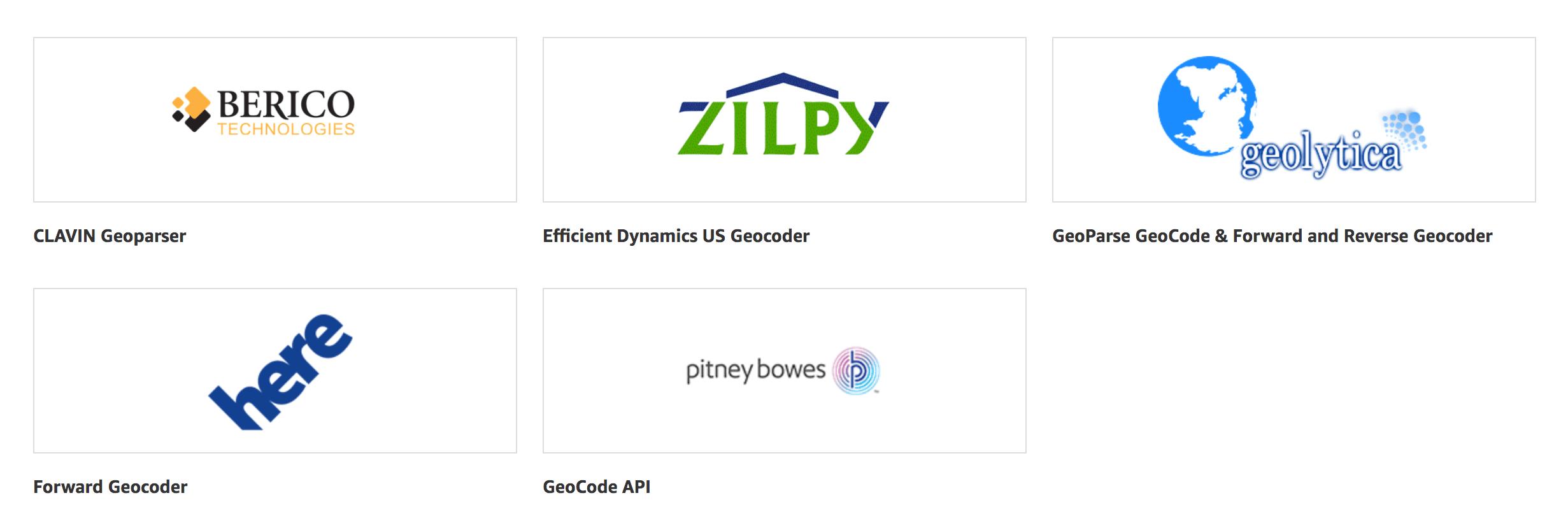 Geocoding Software on Amazon AWS