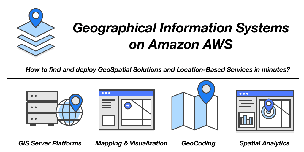 How to find and deploy cloud GIS in minutes on Amazon AWS?