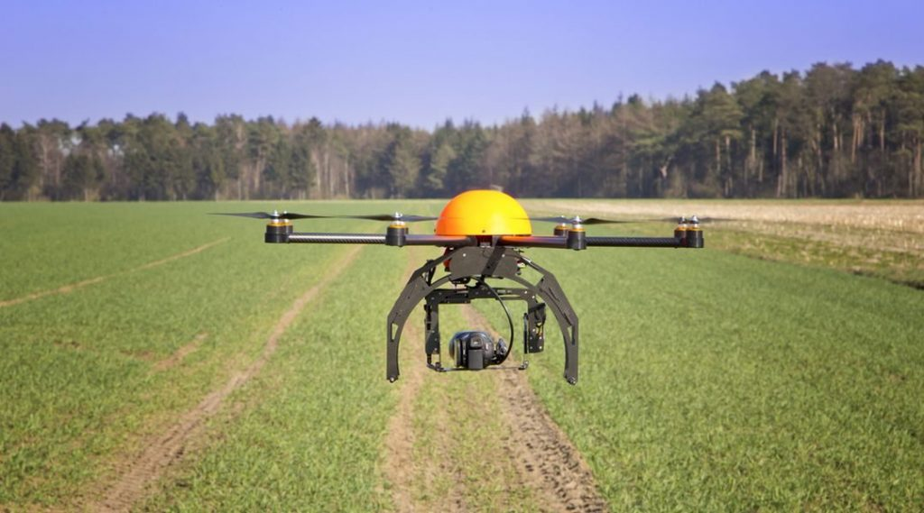 Drones to boost agricultural production