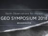 GEO Symposium 2018, 11-12 June 2018