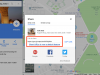 Google Maps Sharing with Short URLs