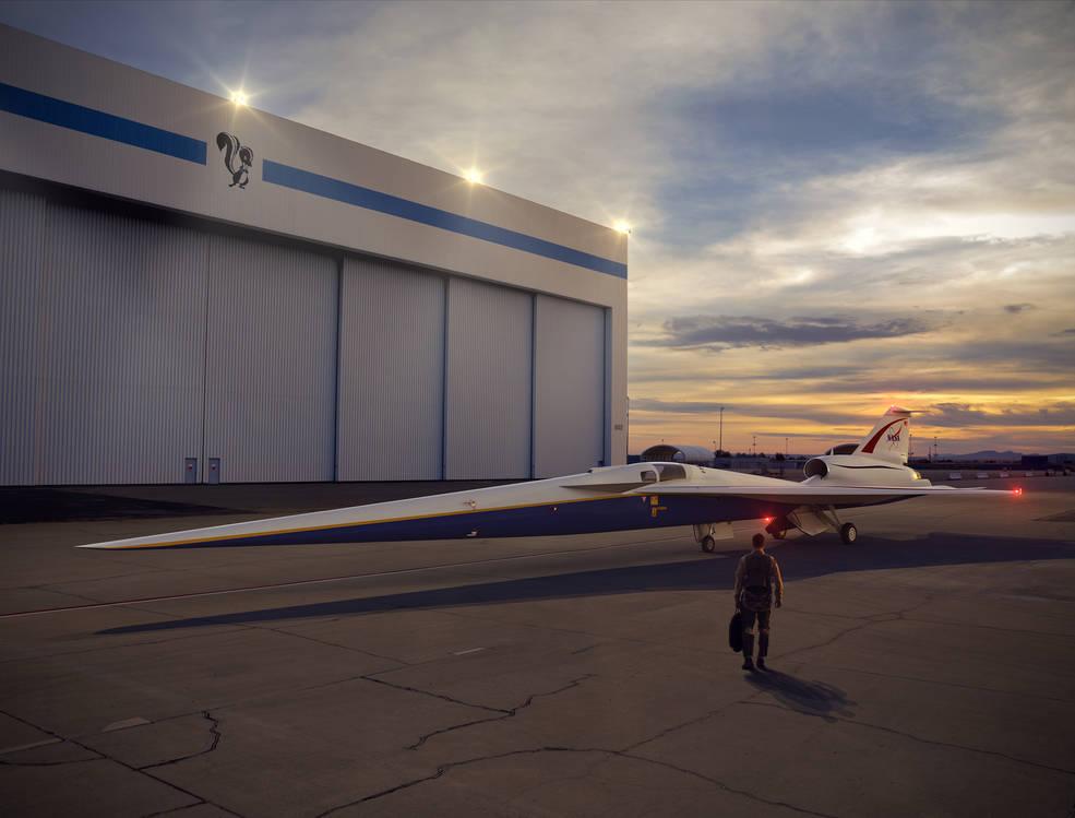 Lockheed Martin to build NASA plane that will fly faster than sound