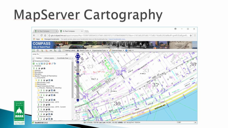 open source viewer, geostaial data