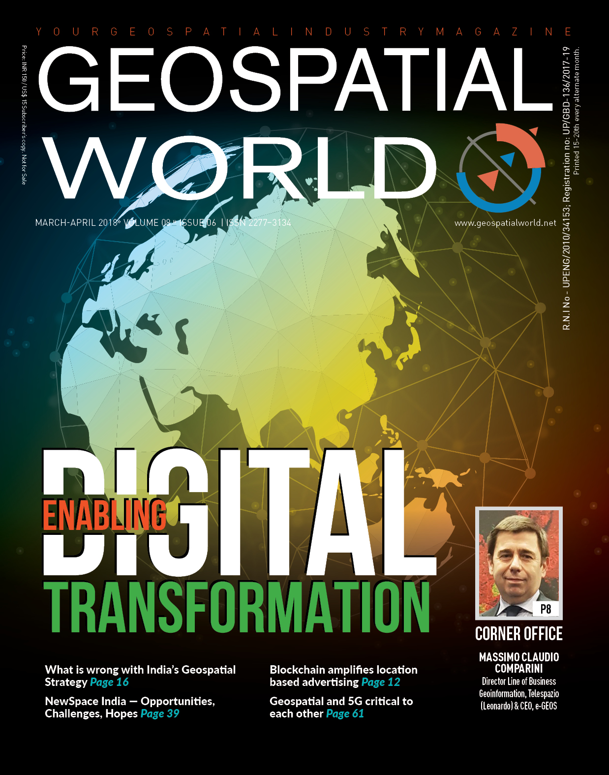 Geospatial World Magazine March 2018: Enabling Digital Transformation