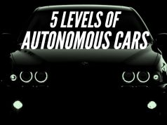 levels of autonomous cars