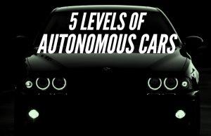 levels of autonomous cars