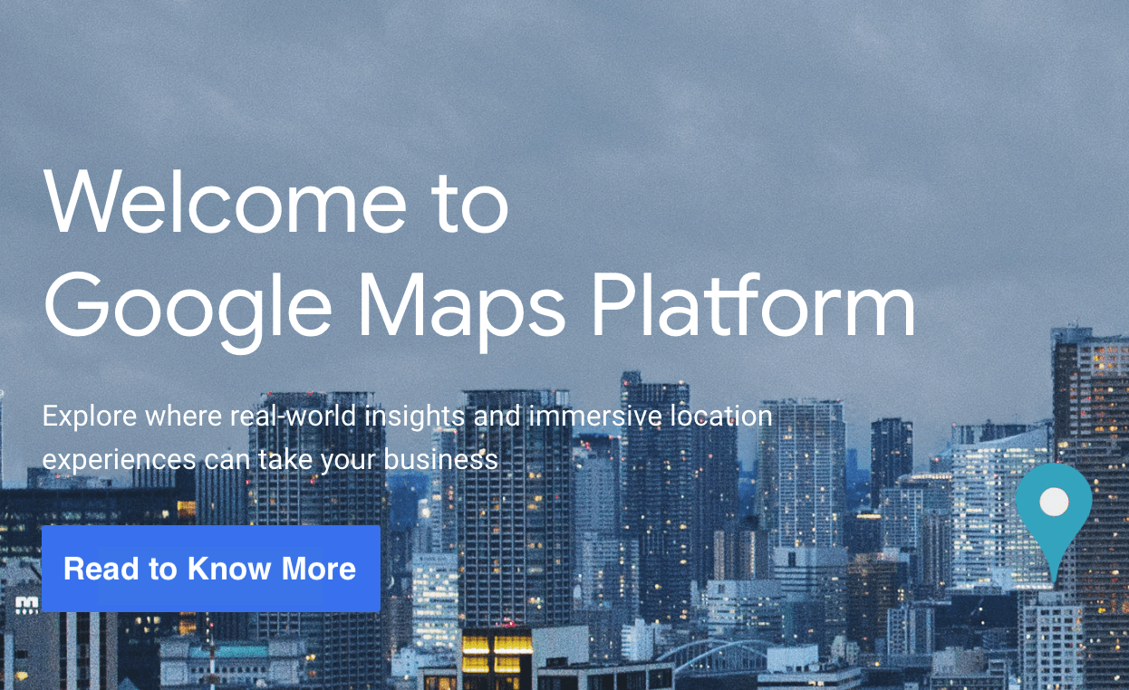 Google Maps Platform - A new offering for Developers is here