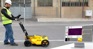 ground penetrating radar (GPR) data